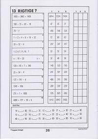 Opgaver Matematik For 3 Klassetrin 40 S A4 Pris 90
